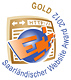 Saarlaendischer Website Award Gold 2012 wecycle.de