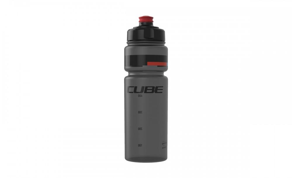 Cube Teamline Fahrrad Trinkflasche 0,75l schwarz/rot