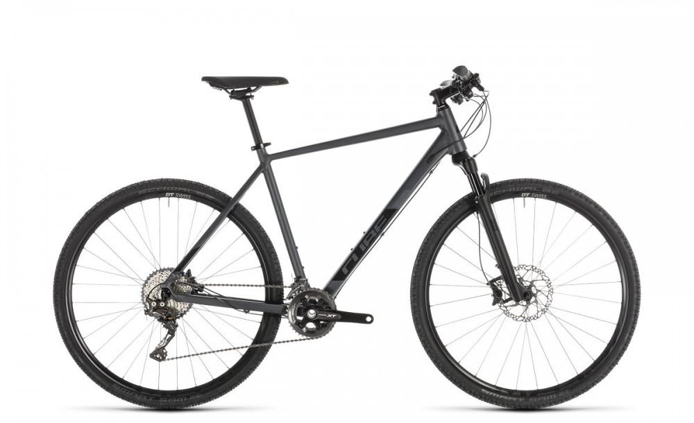 Cube Cross SL Cyclocross Fahrrad grau/schwarz 2019