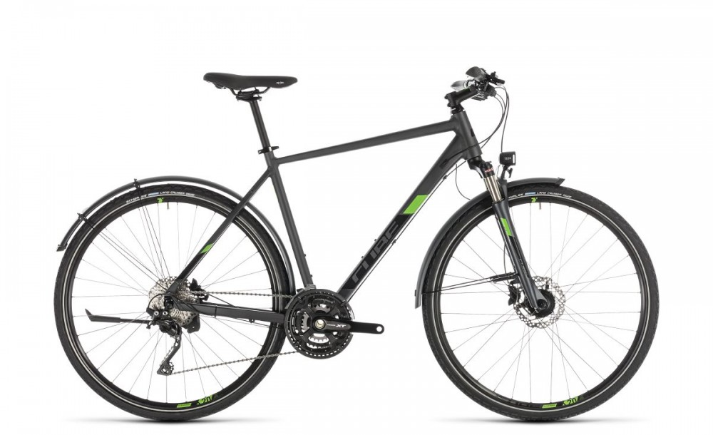 Cube Cross Allroad Cyclocross Fahrrad grau/grün 2019