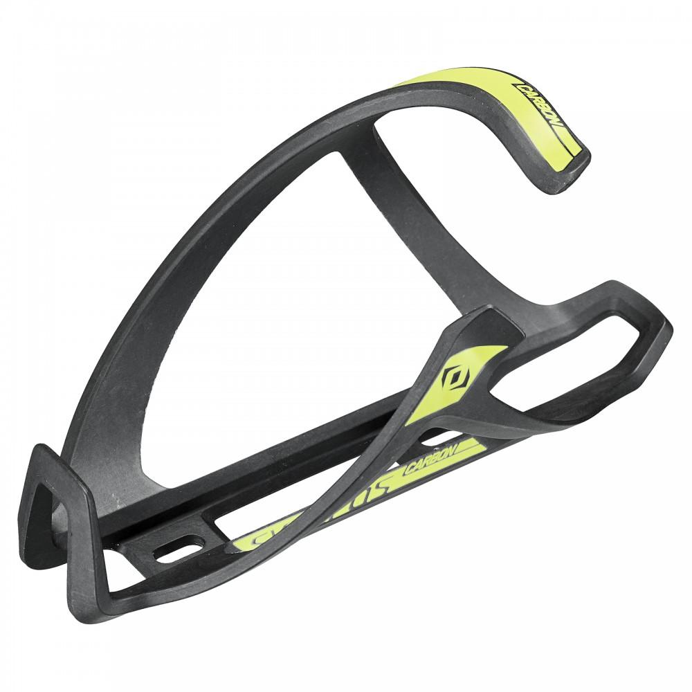 Syncros Tailor Cage 1.0 Fahrrad Flaschenhalter rechts schwarz/gelb