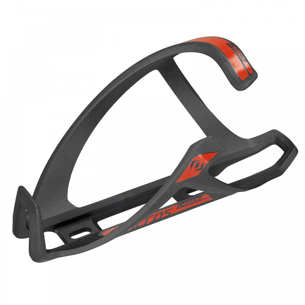 Syncros Tailor Cage 1.0 Fahrrad Flaschenhalter rechts schwarz/rot