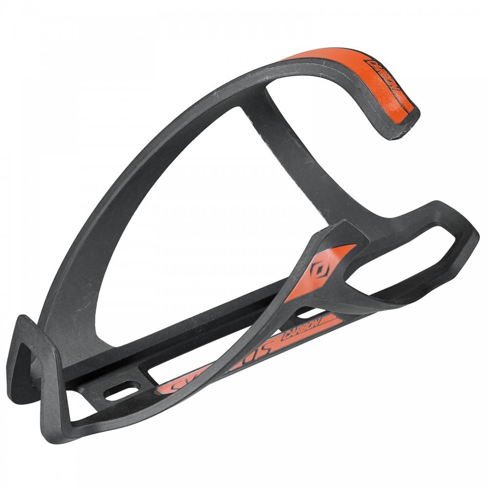 Syncros Tailor Cage 1.0 Fahrrad Flaschenhalter rechts schwarz/orange