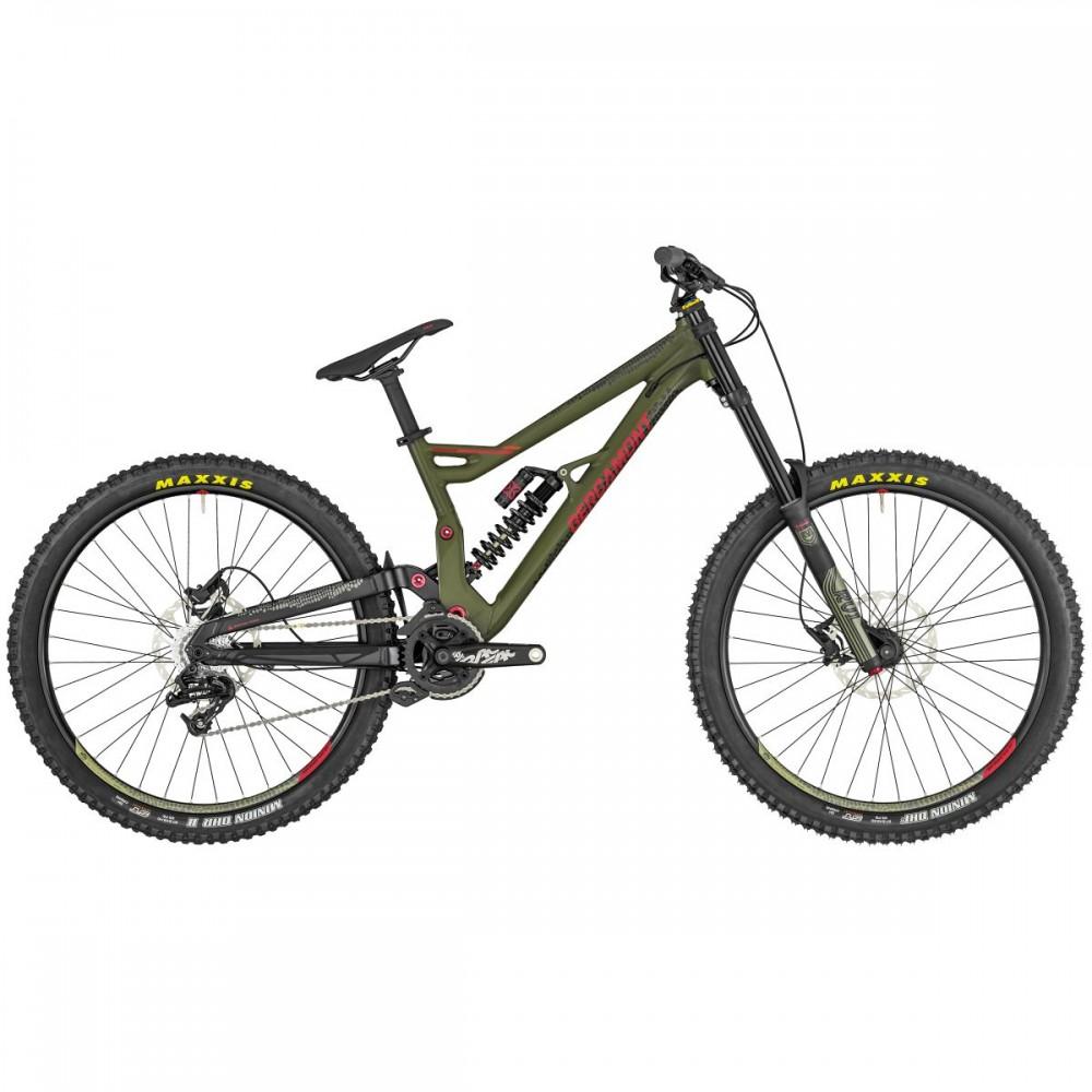 Bergamont Straitline 7 27.5'' DH MTB Fahrrad grün/rot 2019