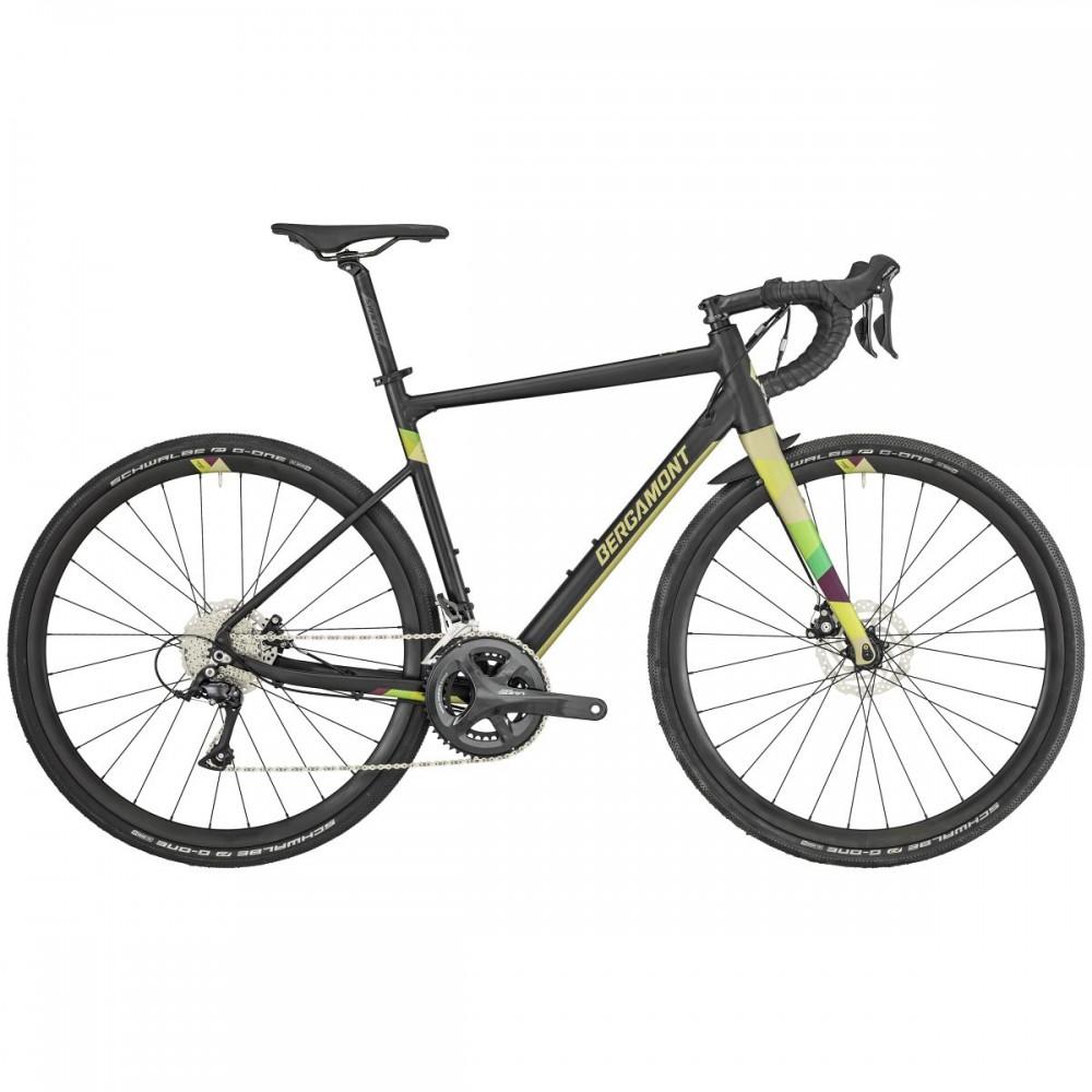 Bergamont Grandurance 5 Cross Bike Querfeldein schwarz/gelb 2019