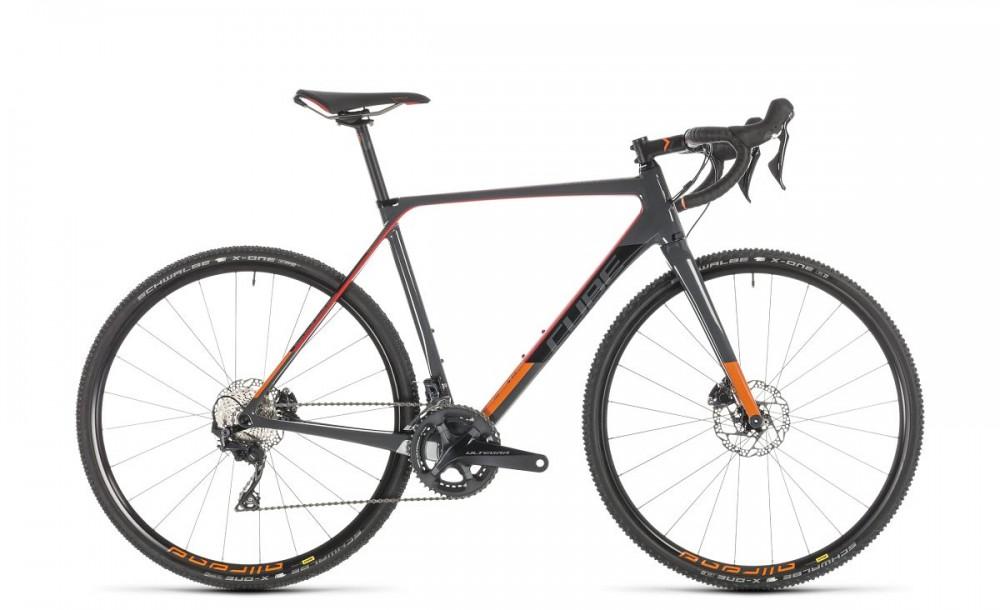 Cube Cross Race C:62 Pro Carbon Cyclocross Fahrrad grau/rot 2019