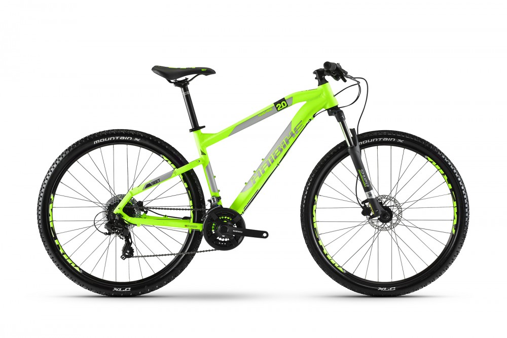 Haibike Seet HardNine 2.0 29'' MTB Fahrrad grün/grau/schwarz 2018