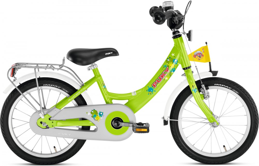Puky ZL 16 Alu Kinder Fahrrad kiwi