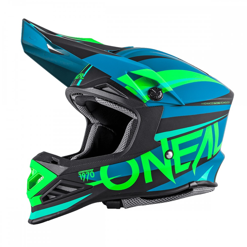 o 39 neal 8 series motocross enduro mtb helm aggressor blau. Black Bedroom Furniture Sets. Home Design Ideas