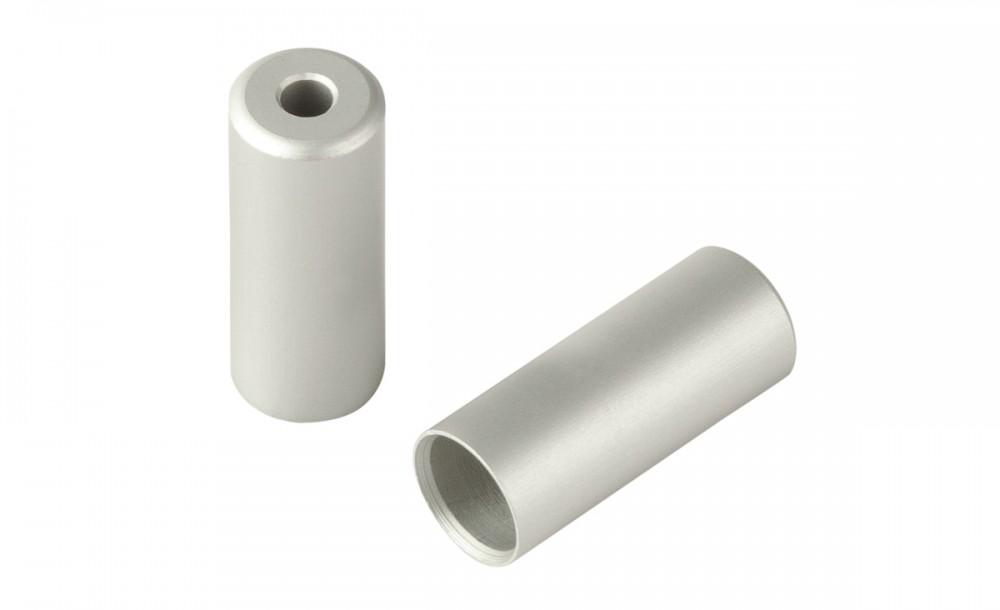 RFR Bremskabel Endkappen Pro silber