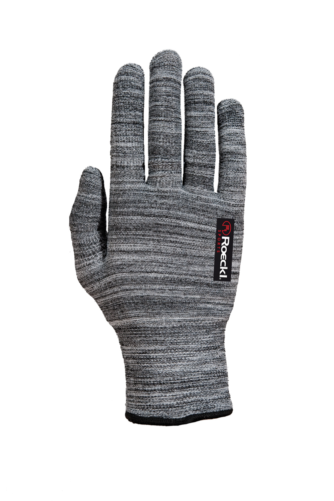 Roeckl Kalamaris Winter Unterziehhandschuh / Handschuhe grau