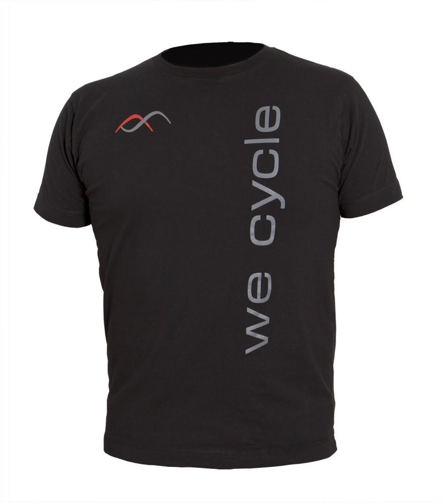 we cycle Team Freizeit T-Shirt schwarz