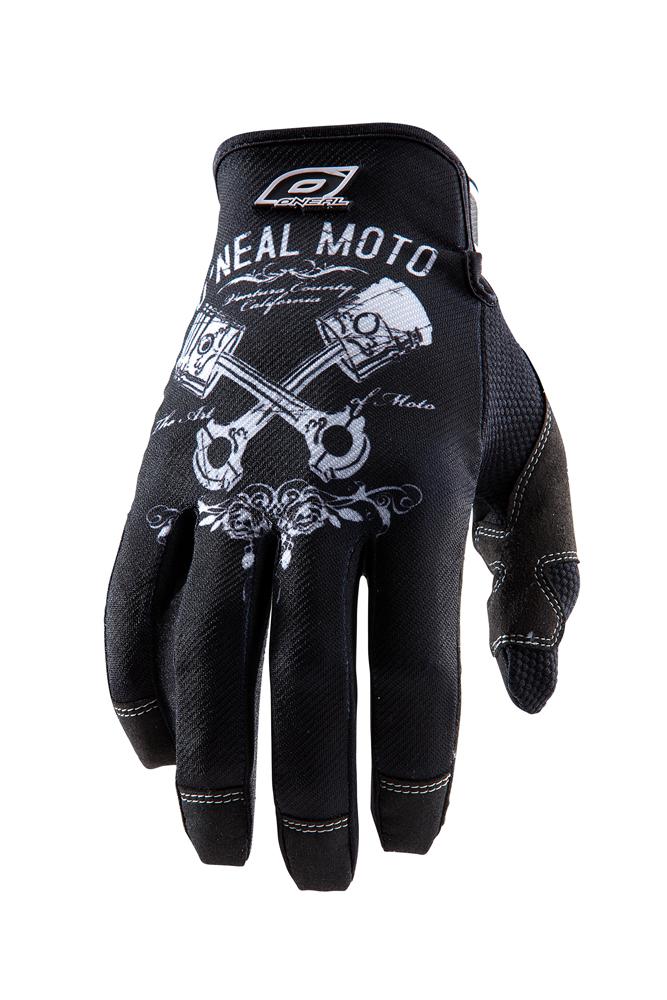 O'Neal Jump Pistons MX DH FR Handschuhe schwarz/weiss 2018