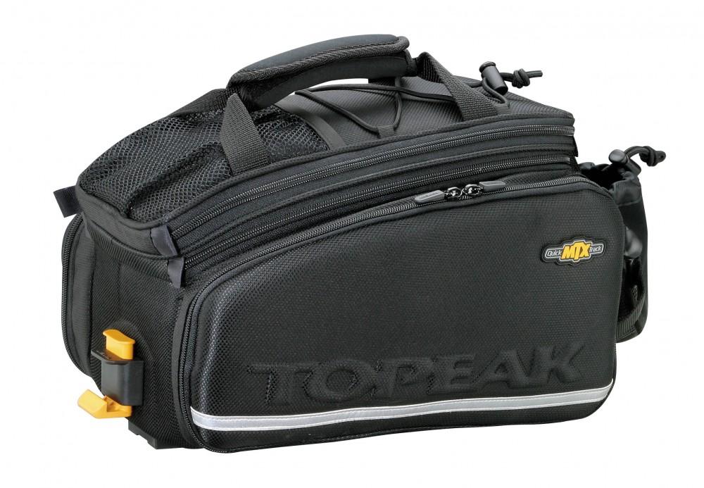 Topeak MTX Trunk Bag Tour DX Fahrrad Gepäckträger-Tasche mit Seitentaschen