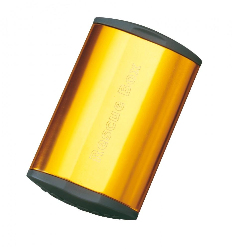 Topeak Rescue Box gold Fahrrad Flickzeug