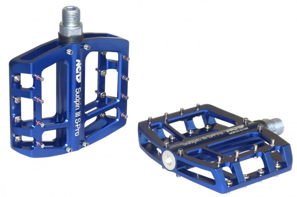 NC-17 Sudpin III CNC Fahrrad Pedal blau