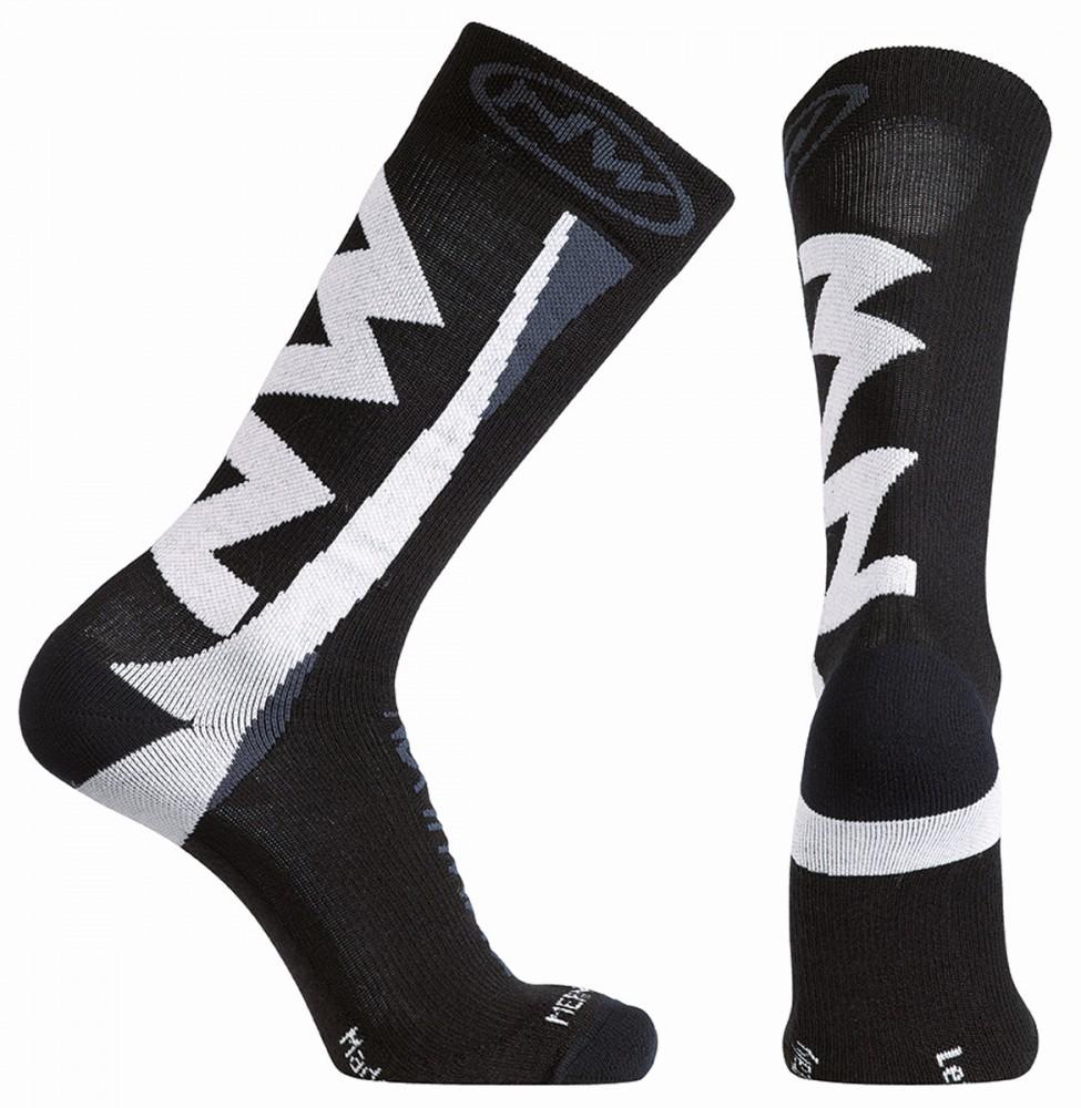 Northwave Extreme Winter Fahrrad Socken schwarz/weiß 2018