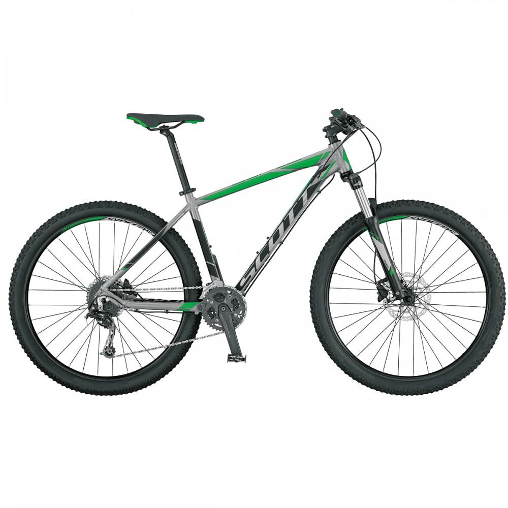 Scott Peak 900 MTB Fahrrad grau/schwarz/grün 2017
