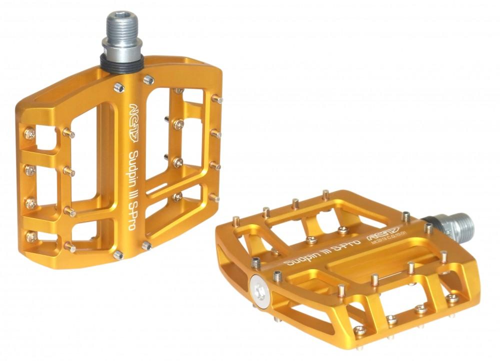 NC-17 Sudpin III CNC Fahrrad Pedal gold