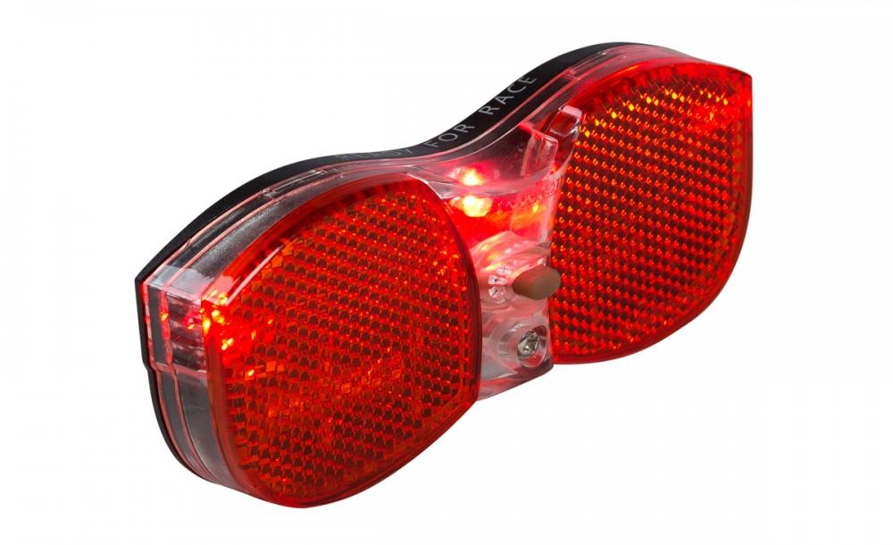 RFR Standard Fahrrad Gepäckträgerrücklicht schwarz