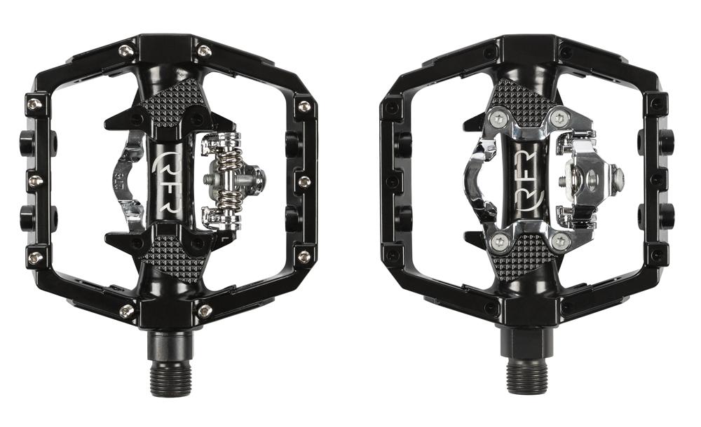 RFR Flat Klick-System Fahrrad Pedale schwarz
