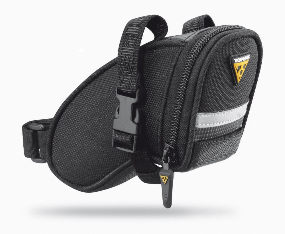 Topeak Strap Aero Wedge Pack Micro Fahrrad Satteltasche