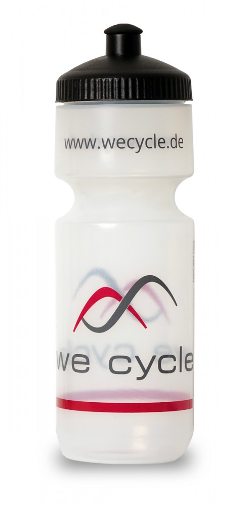 we cycle Team Fahrrad Trinkflasche klar 0.75 Liter