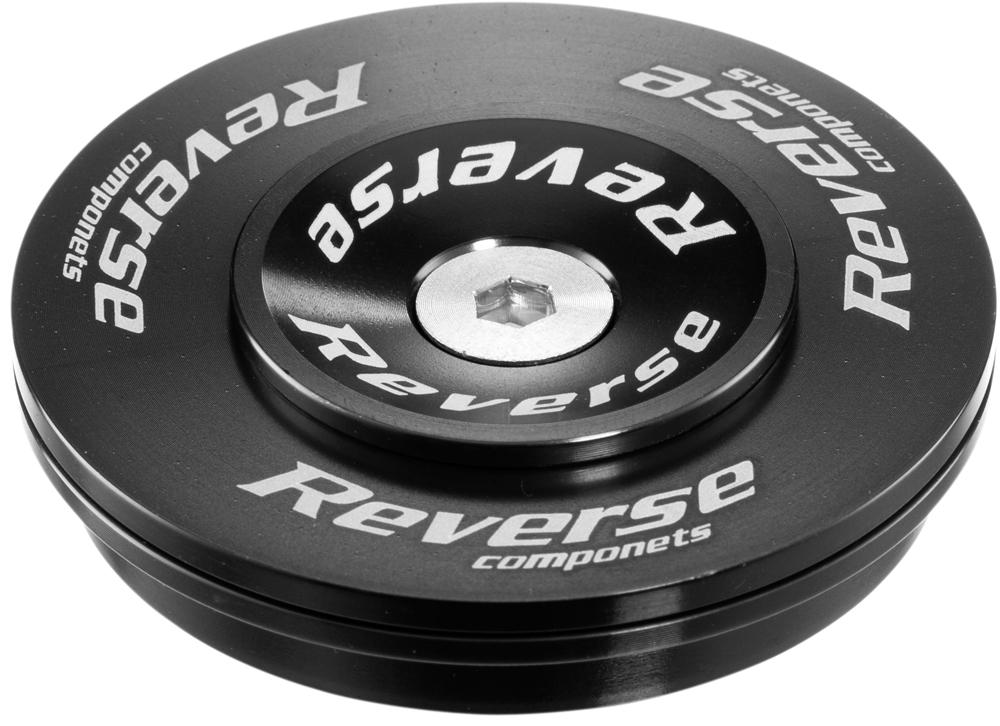 Reverse Twister Top Cup Headset Steuersatz 1.5-1 1/8 Semi Integriert schwarz