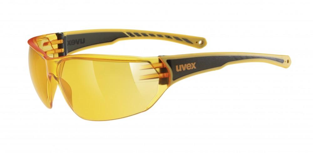 Uvex SGL 204 Fahrrad / Sport Brille orange