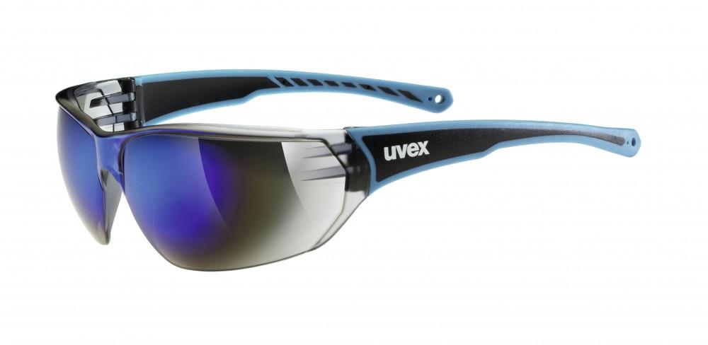 Uvex SGL 204 Fahrrad / Sport Brille blau