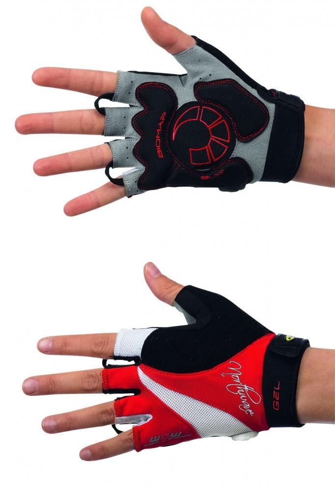 Northwave Devine Damen Fahrrad Handschuhe kurz rot 2016