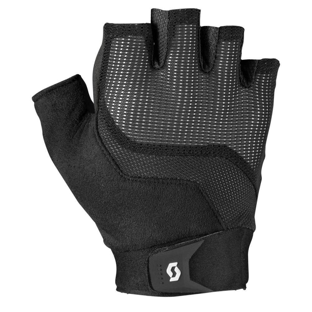 scott essential fahrrad handschuhe kurz schwarz 2019 von. Black Bedroom Furniture Sets. Home Design Ideas