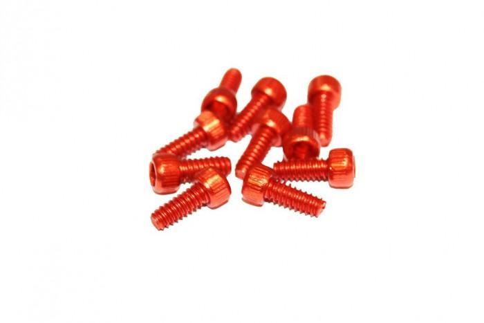 Reverse Escape Pro + Black One Pedal Alu Pin Set US orange