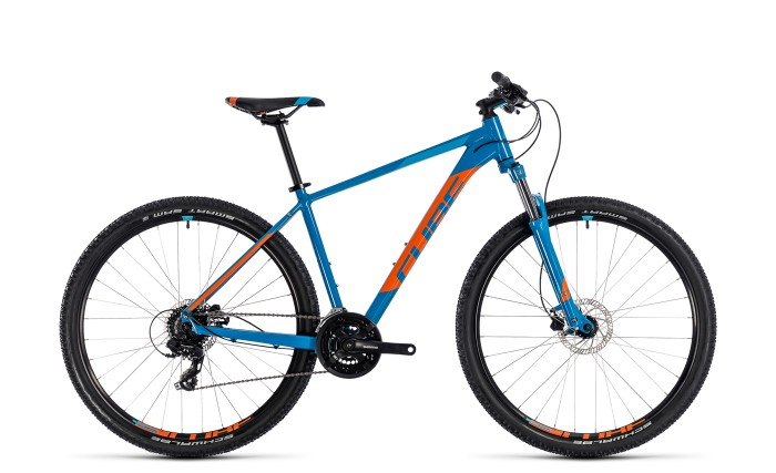 Cube Aim Pro 27.5'' / 29'' MTB Fahrrad blau/orange 2018