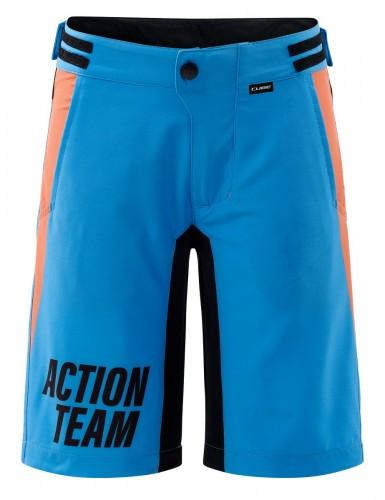 Cube X Action Team Kinder Fahrrad Short Hose kurz (Inkl. Innenhose) blau/orange 2022 L (134/140)