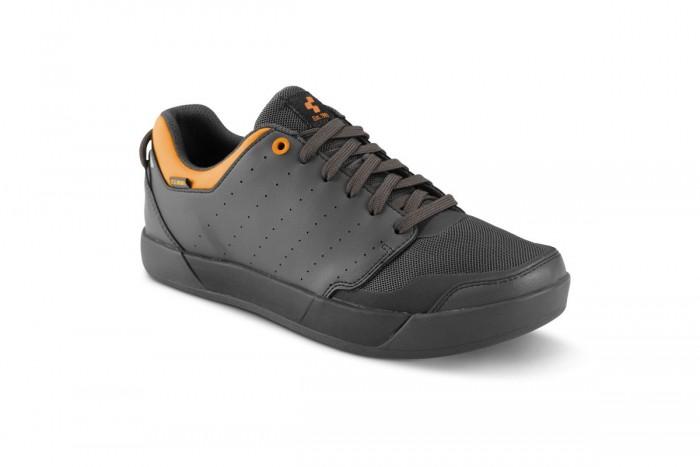 Cube GTY Maze MTB / Dirt Fahrrad Schuhe grau/orange 2020
