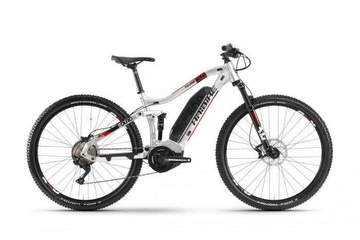 Haibike Sduro FullNine 2.0 29'' Pedelec E-Bike MTB silberfarben/rot 2020