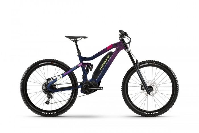 Haibike Dwnhll 27.5'' Pedelec E-Bike MTB lila/blau 2021