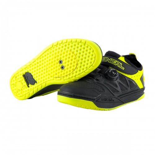O'neal Session Dirt MTB Fahrrad Schuhe schwarz/gelb 2021 Oneal