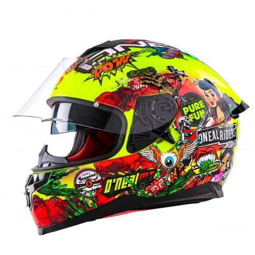 O'neal Challenger Crank Enduro MX Motorrad Helm gelb 2020 Oneal