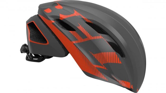 Bell Z20 Aero MIPS Rennrad Fahrrad Helm grau/orange 2020