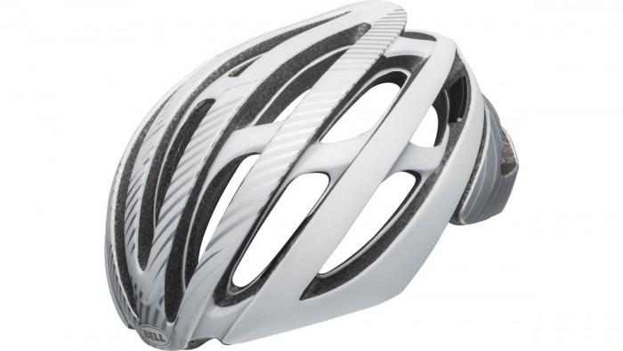 Bell Z20 MIPS Rennrad Fahrrad Helm weiß/silberfarben 2020