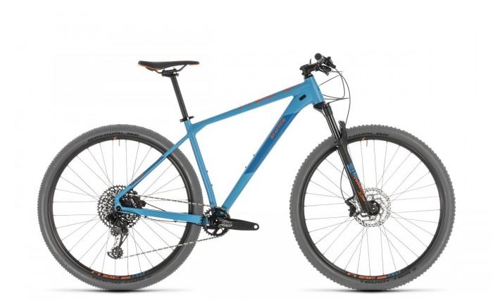 Cube Reaction Race 27.5 / 29'' MTB Fahrrad blau/orange 2019