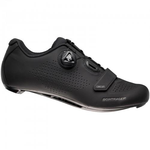 Bontrager Circuit Rennrad Fahrrad Schuhe schwarz 2020