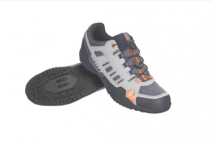 Scott Crus-r Freizeit / Trekking Fahrrad Schuhe grau/orange 2019