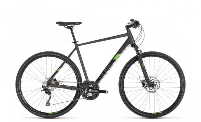 Cube Cross Pro Cyclocross Fahrrad grau/grün 2019