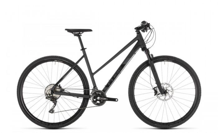 Cube Cross SL Damen Cyclocross Fahrrad grau/schwarz 2019
