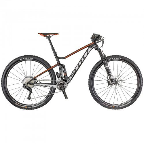 Scott Spark 930 29'' MTB Fahrrad schwarz/weiß/rot 2018