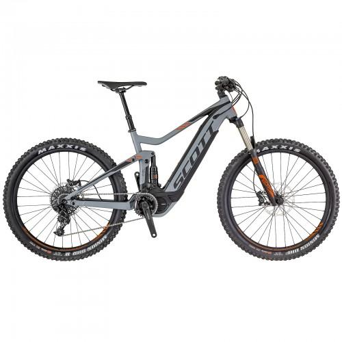Scott E-Genius 720 27.5 Pedelec E-Bike MTB schwarz 2018