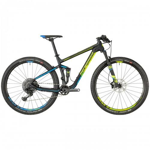 Bergamont Fastlane Team Carbon MTB 29'' Fahrrad schwarz/gelb/blau 2018
